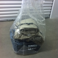 0160: Plastic Bag of Inflatable Mattresses