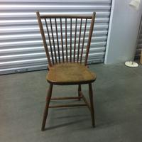 0163: Wood Chair