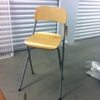 0197: Tall Wooden Chair #1