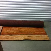 0182: Red/Orange Plush Rug