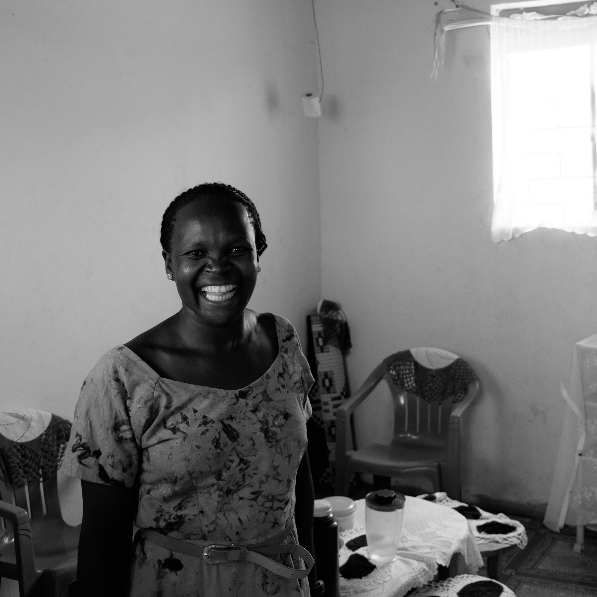 Betty, one of the incredible teachers who made the shoot remotely possible. Unbridled enthusiasm from minute one.