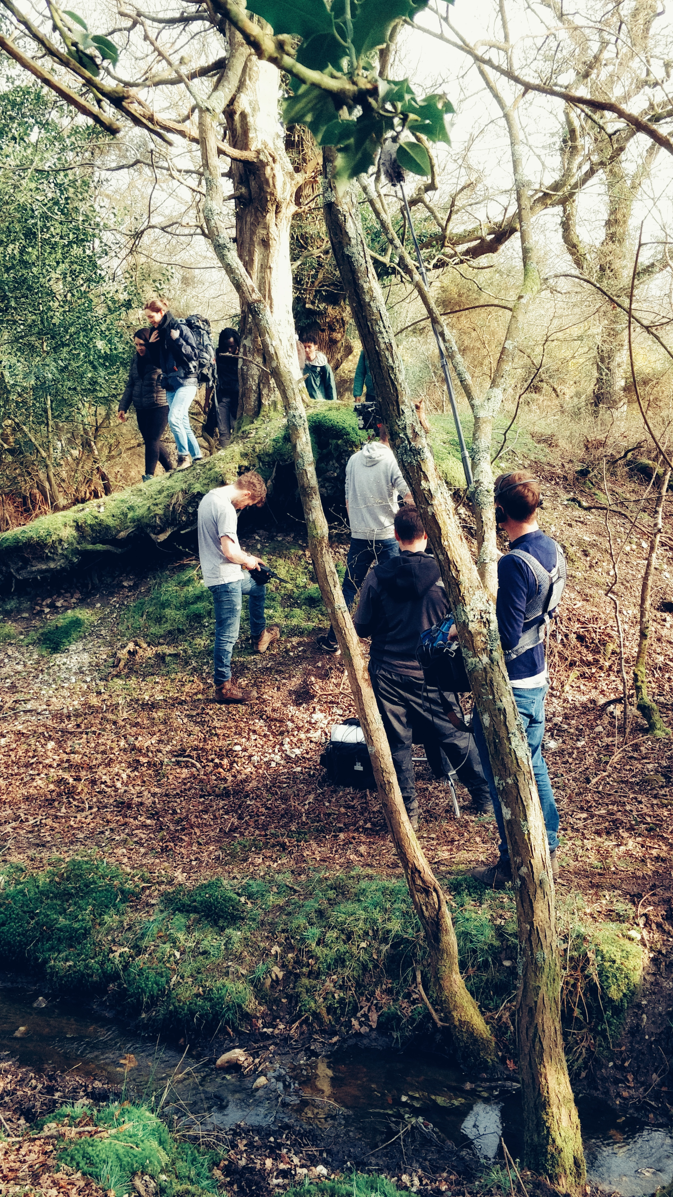 If you go into the woods today… expect a busy camera crew!