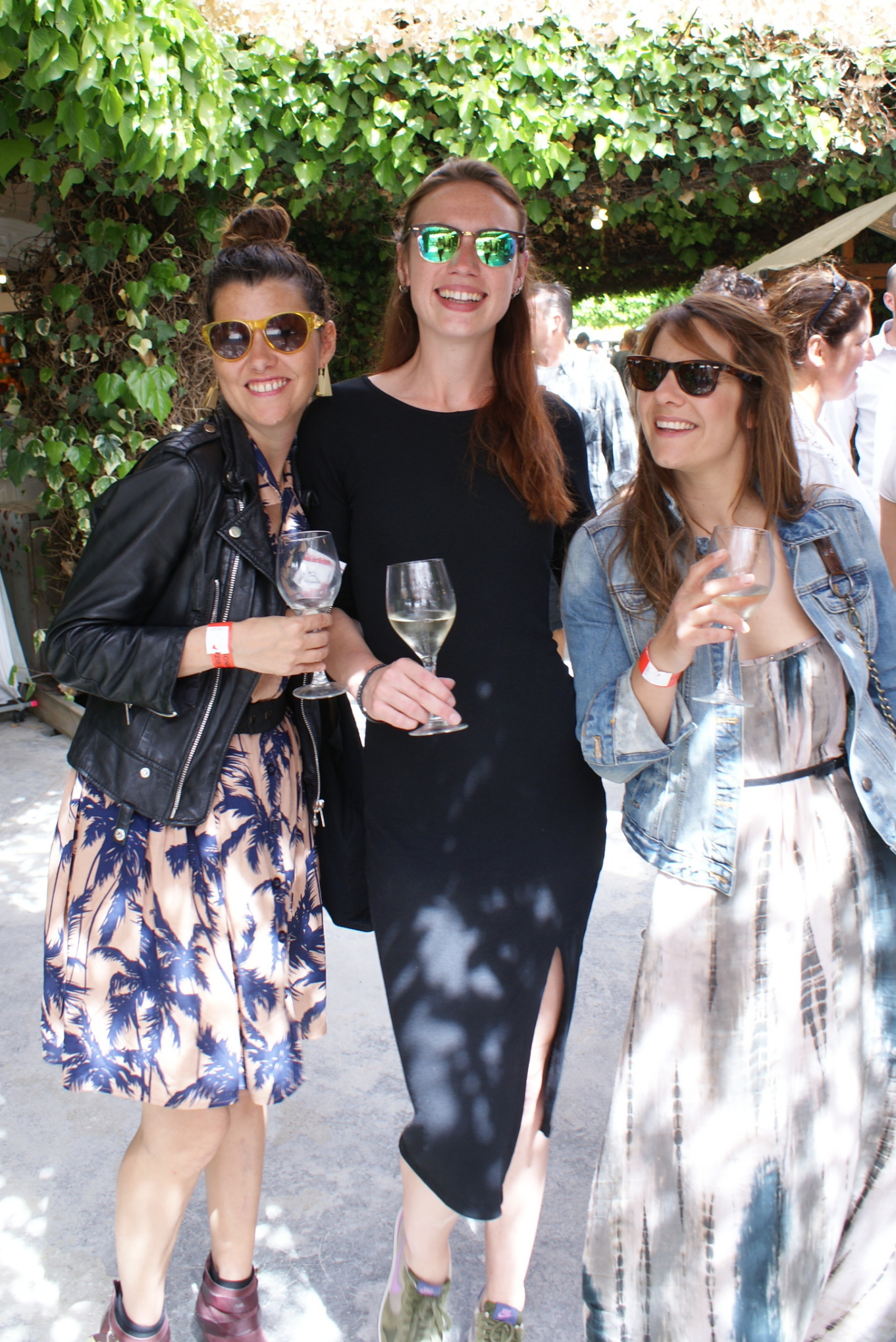 Laura, Rosa & Carmen.   IBIZA FOOD LOVERS (heart) VINO&CO
