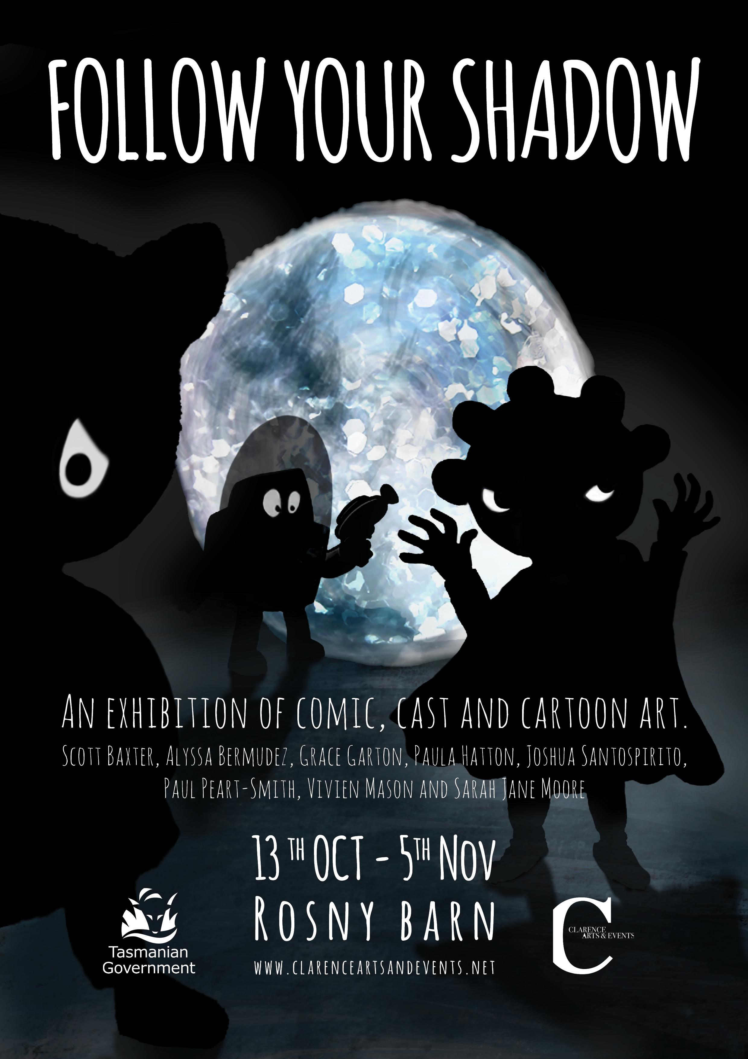 Follow Your Shadow_Exhibition_Rosny Barn_Vivien Mason