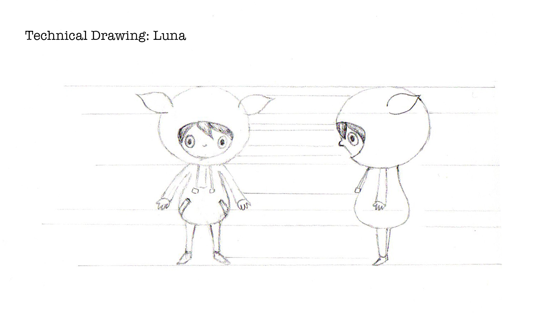 technical drawing of luna (2017)
