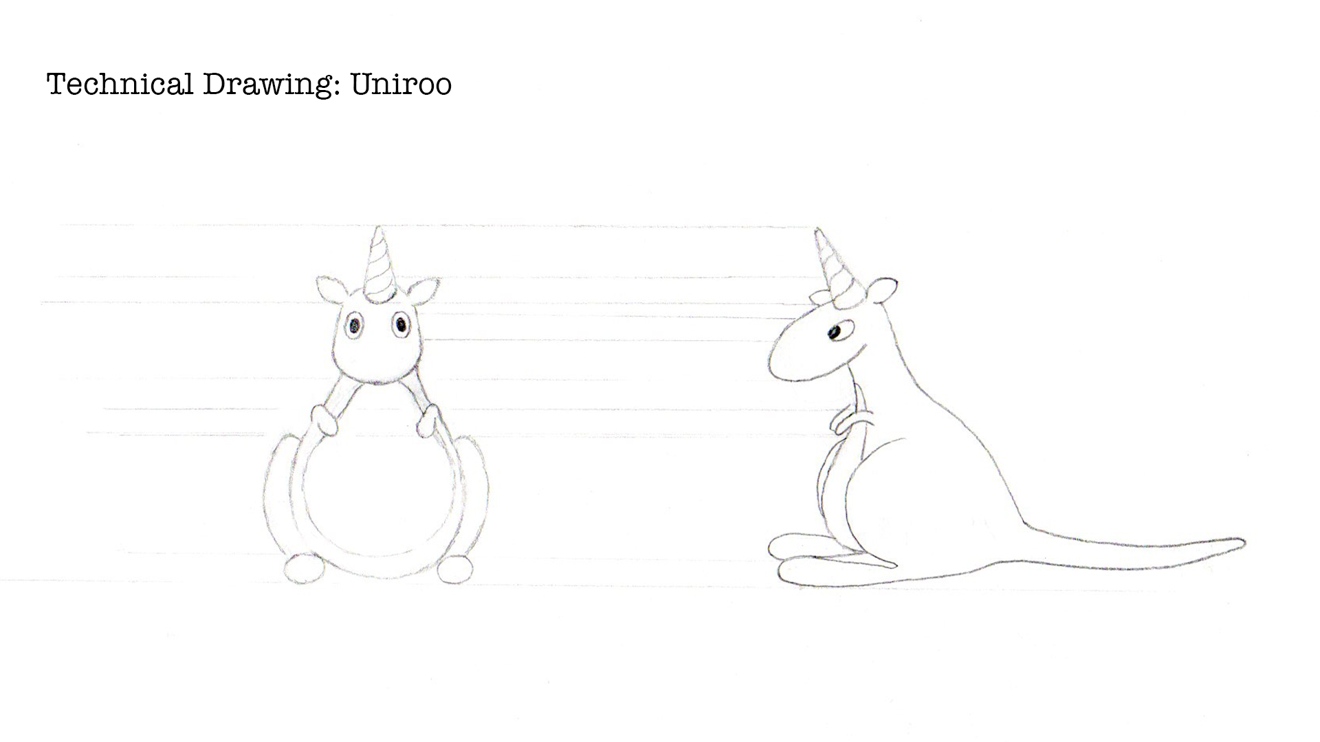 technical drawing of uniroo (2017)