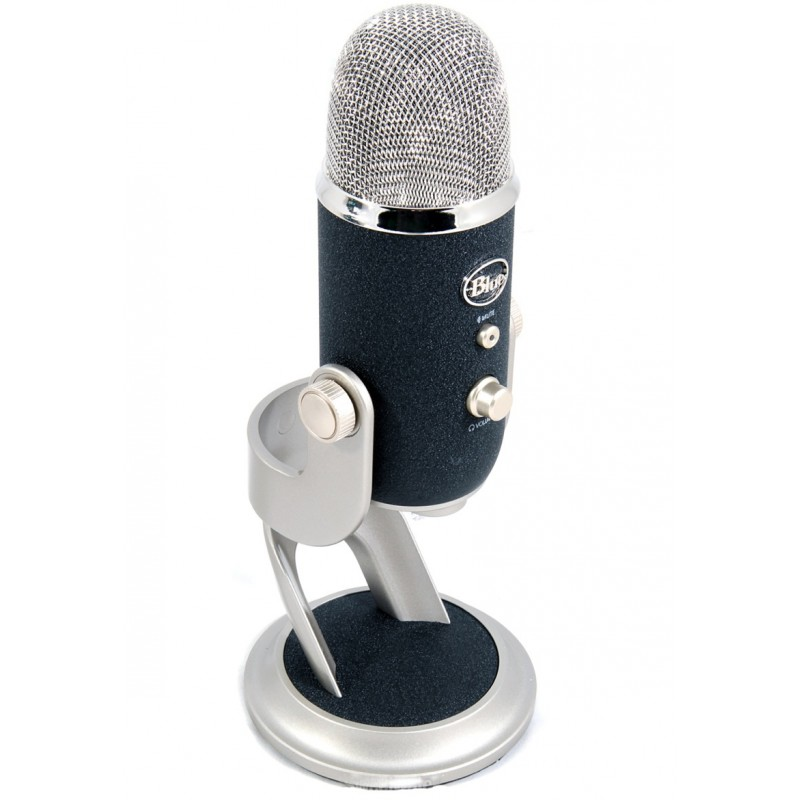 The Yeti Pro. It's a nice mic. It lets me put my silly voices on the Internet.
