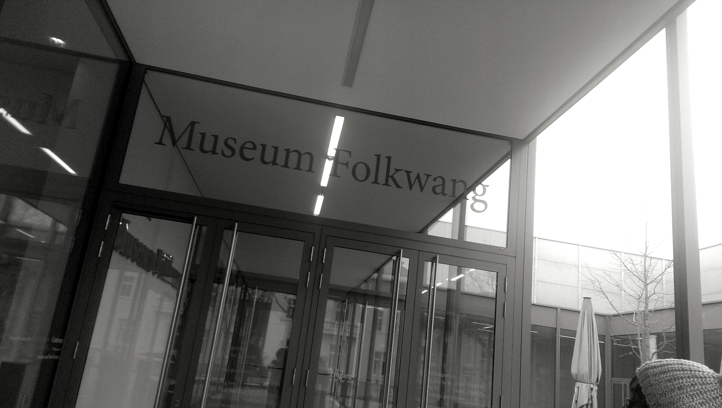 OK, now we're on the other side of Germany, in Essen. The  Museum Folkwang has a varied collection - including, at the time, an exhibition of the photography of  Otto Steinert .