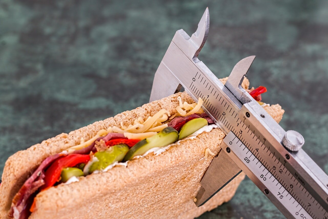 Let's keep track of every measurement, not just the obvious ones. How tall was your lunch, anyway?