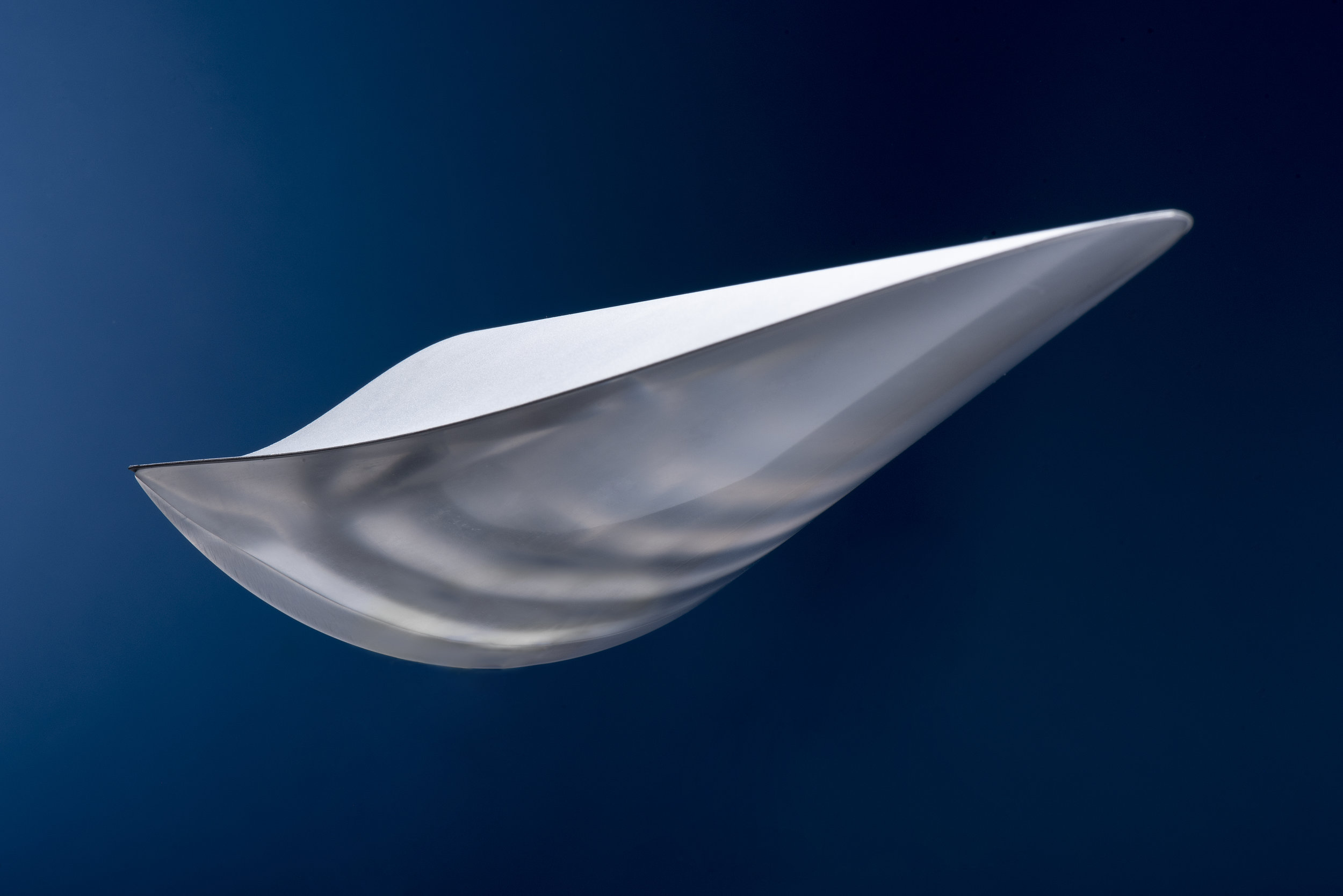 Model of a morphing waverider. (Photo illustration by Jonathan Steffen)