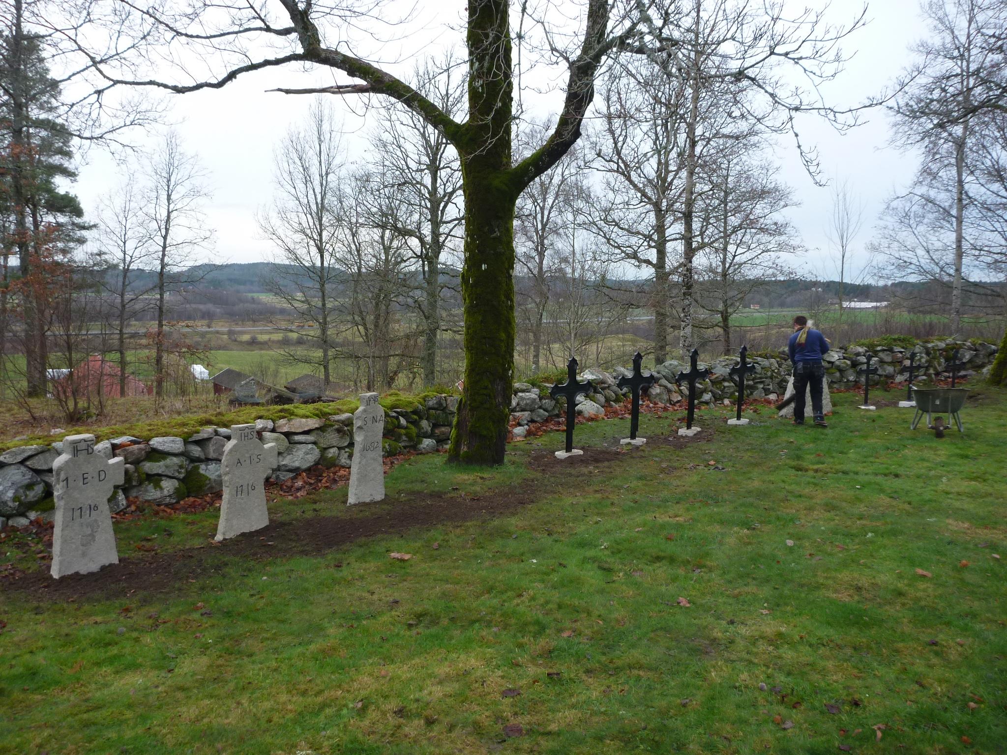 Åsbräcka kyrkogård 2013-2014