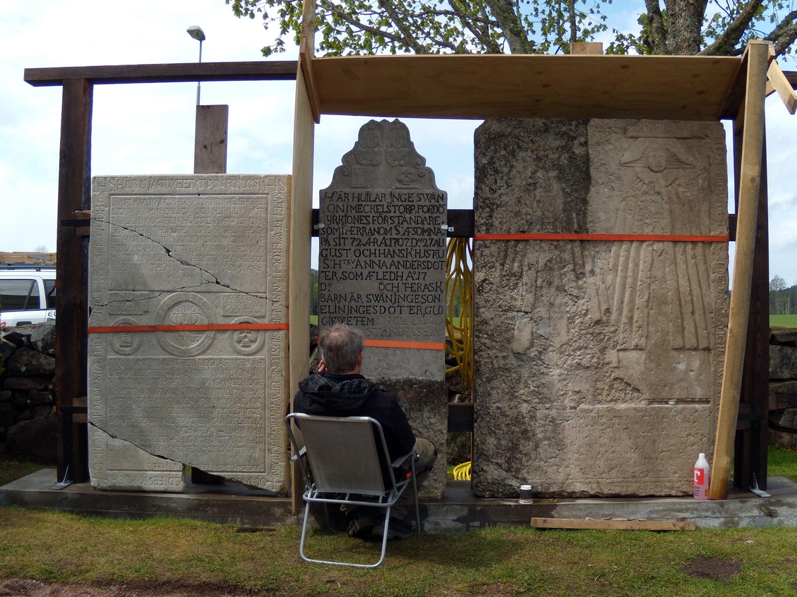 Adelöv kyrkogård 2009