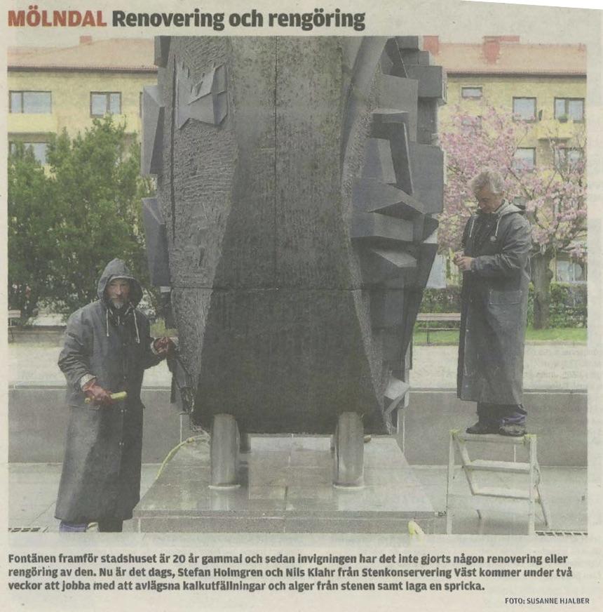 Mölndals-Posten 16 Maj 2012