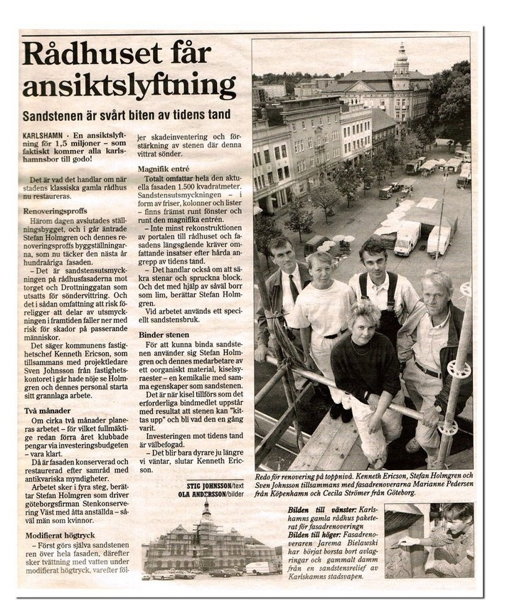 Sydöstran 18 Augusti 1998