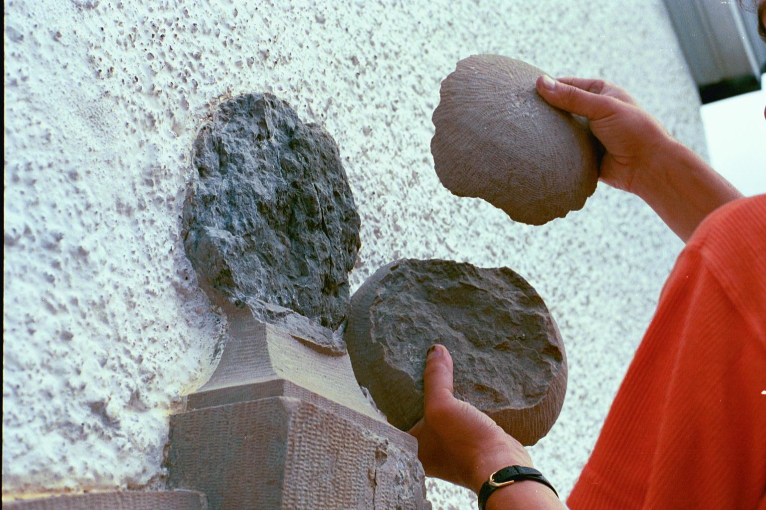 Skador på sten