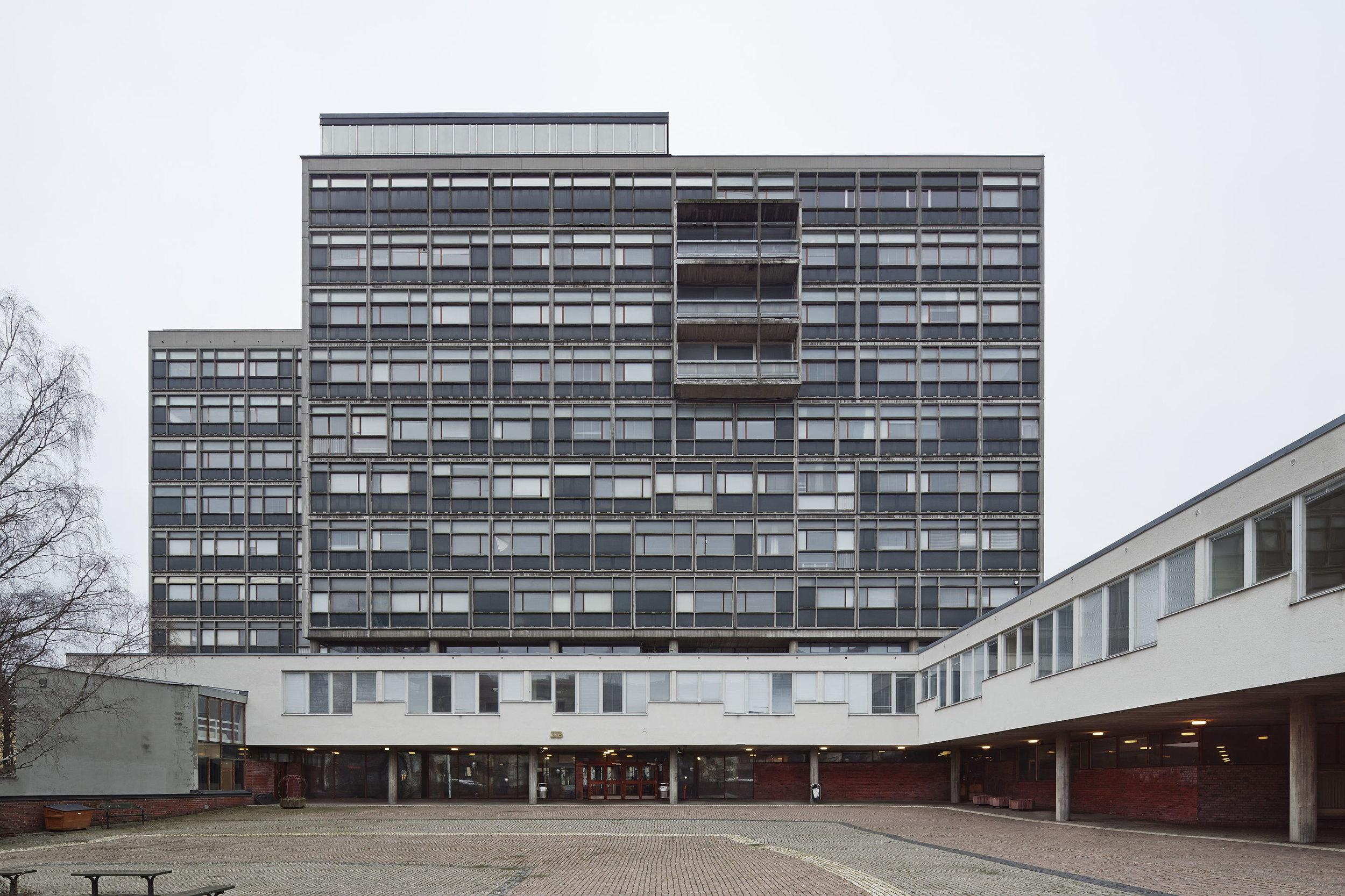 Byggnaden i sin helhet