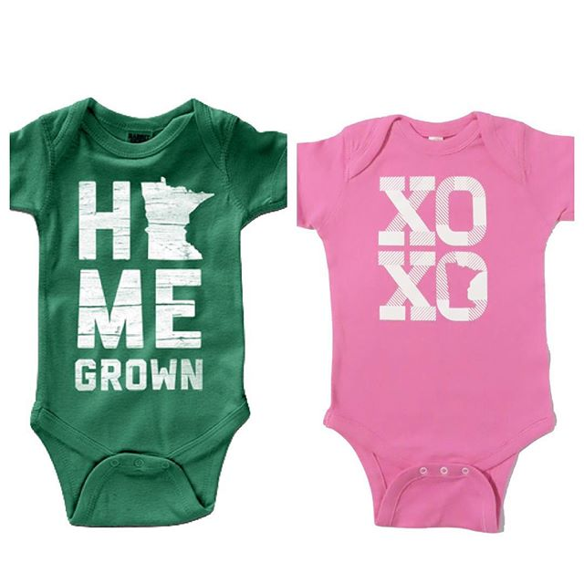 Alright, guys!  The voting is open!! Which of these adorable onesies would YOU like to see added to our spring clothing lineup??? #comingsoon #mnbaby #homegrown #minnesotalove @piccadillyprairie