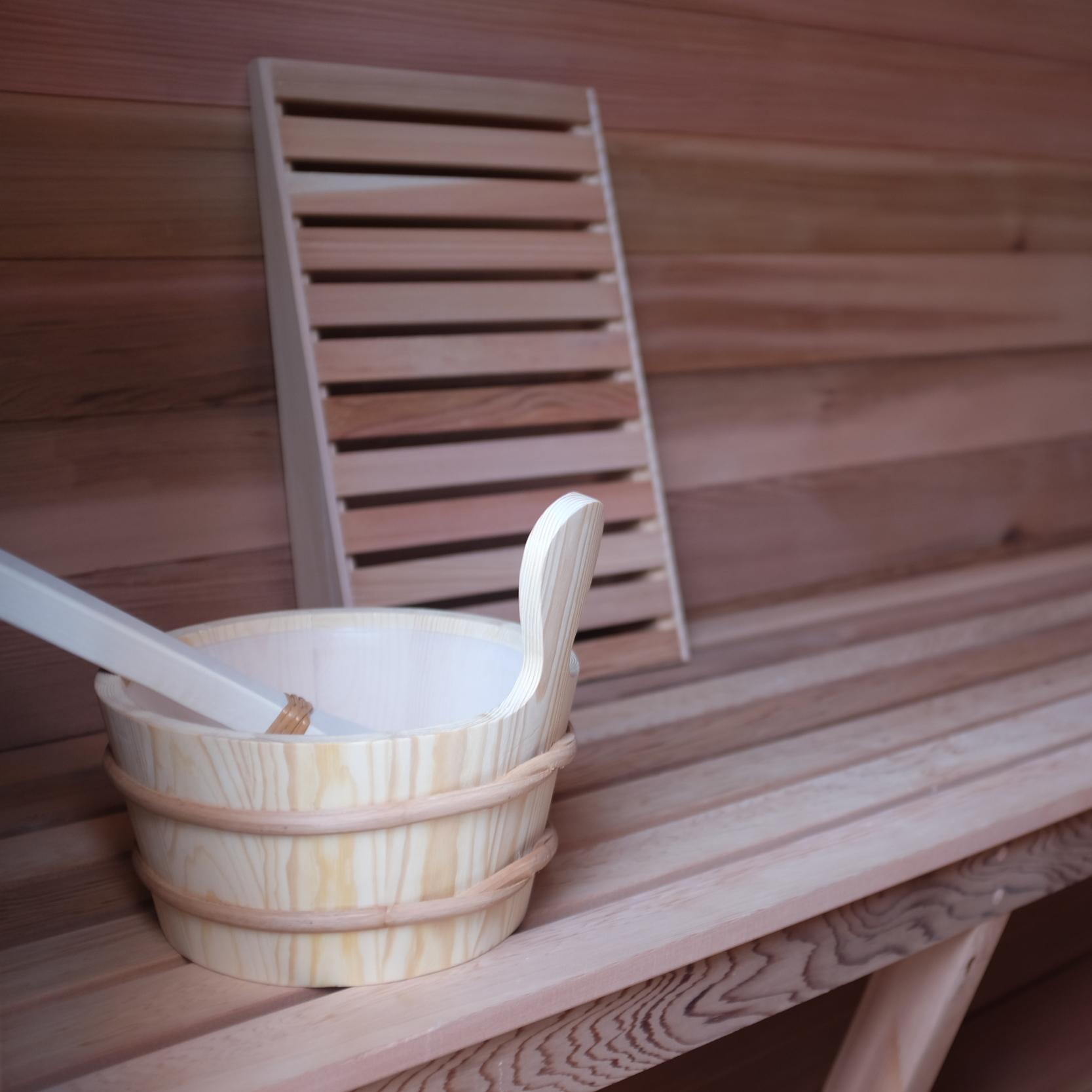 The Mobile Sauna