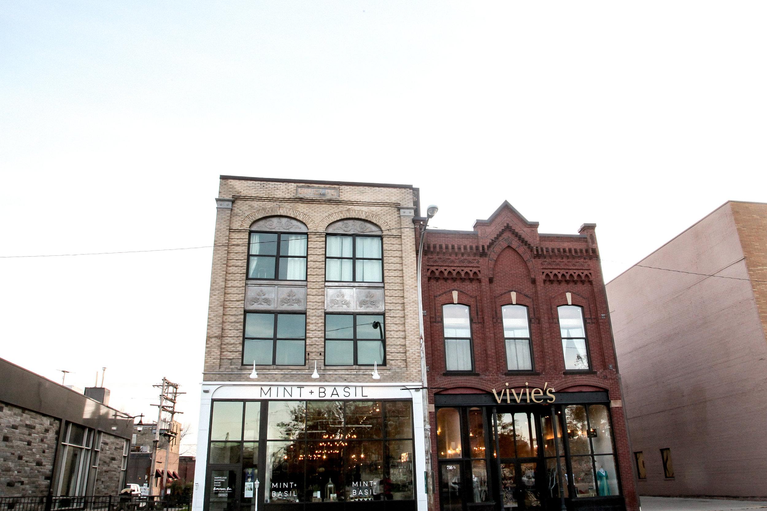 Mint & Basil in Downtown Fargo at 714 Main Ave. Photo Credit: Brynn Joki