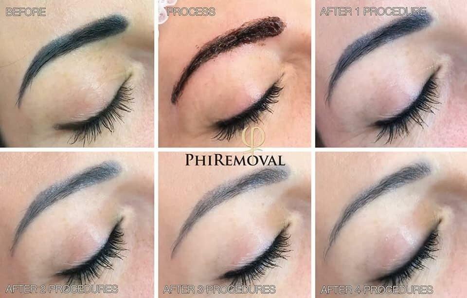Permanent Makeup Removal Organic Spa