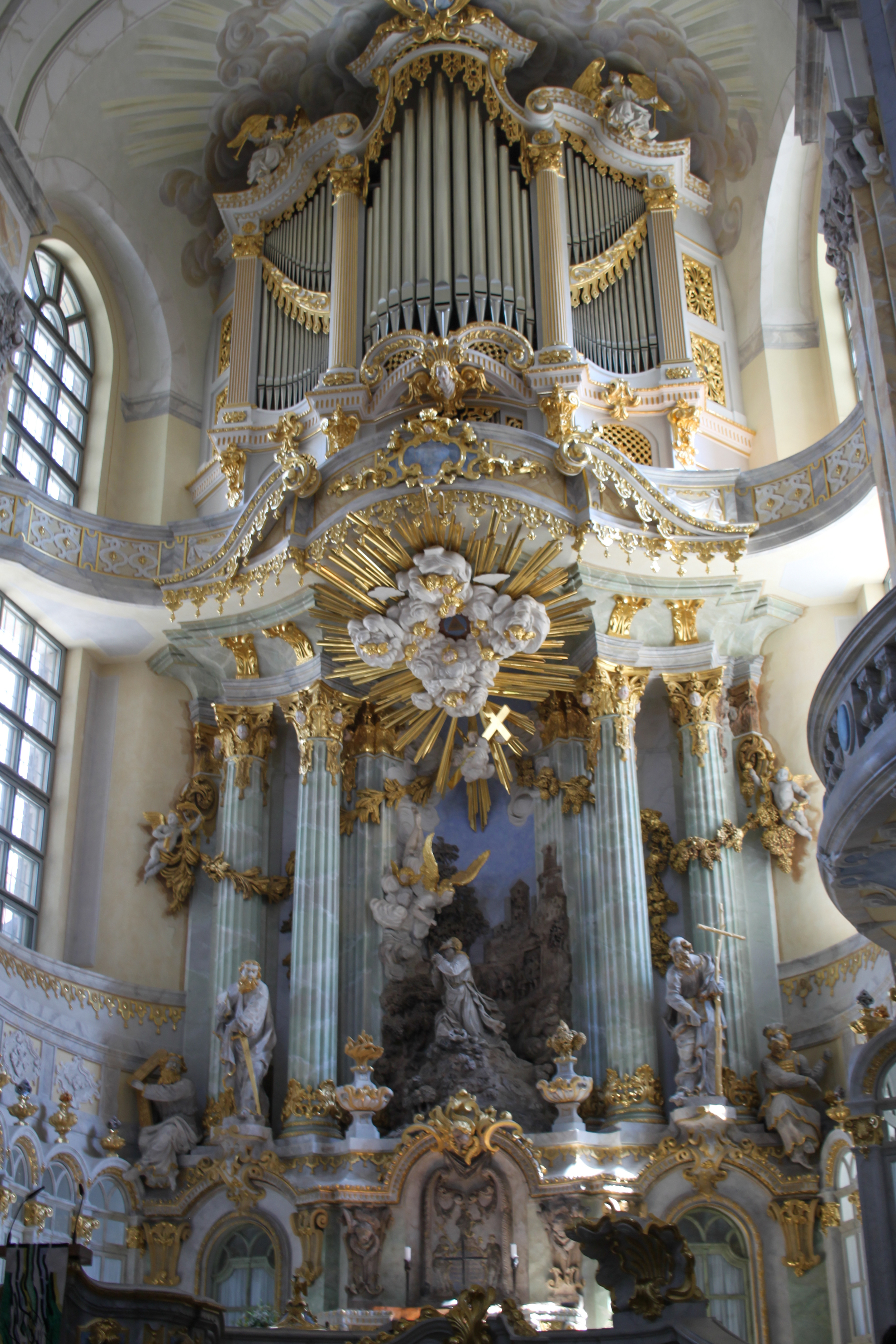 Altar of the Dresden Frauenkirche