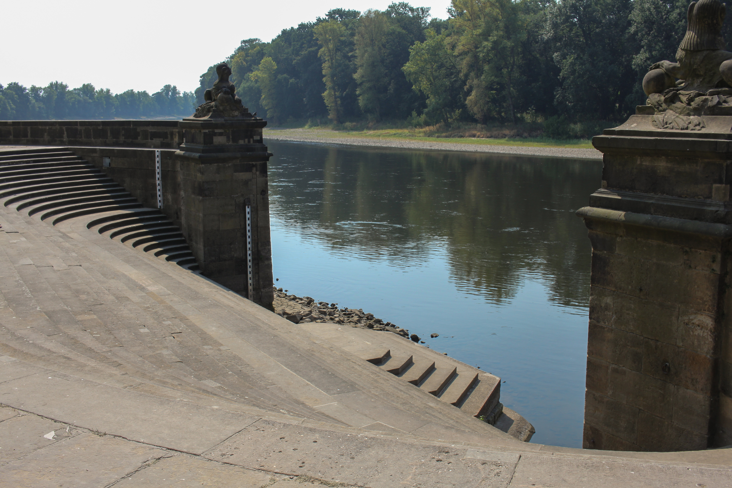 Dock of Schloss Pillnitz