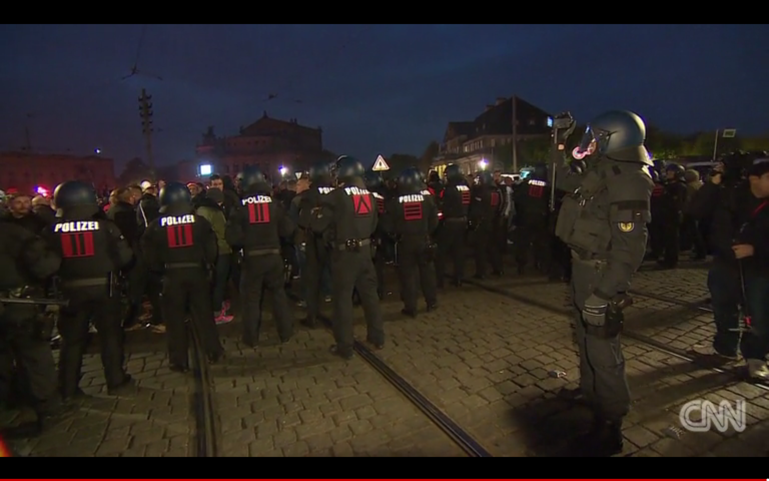 Germany Anti-Migrant Protest