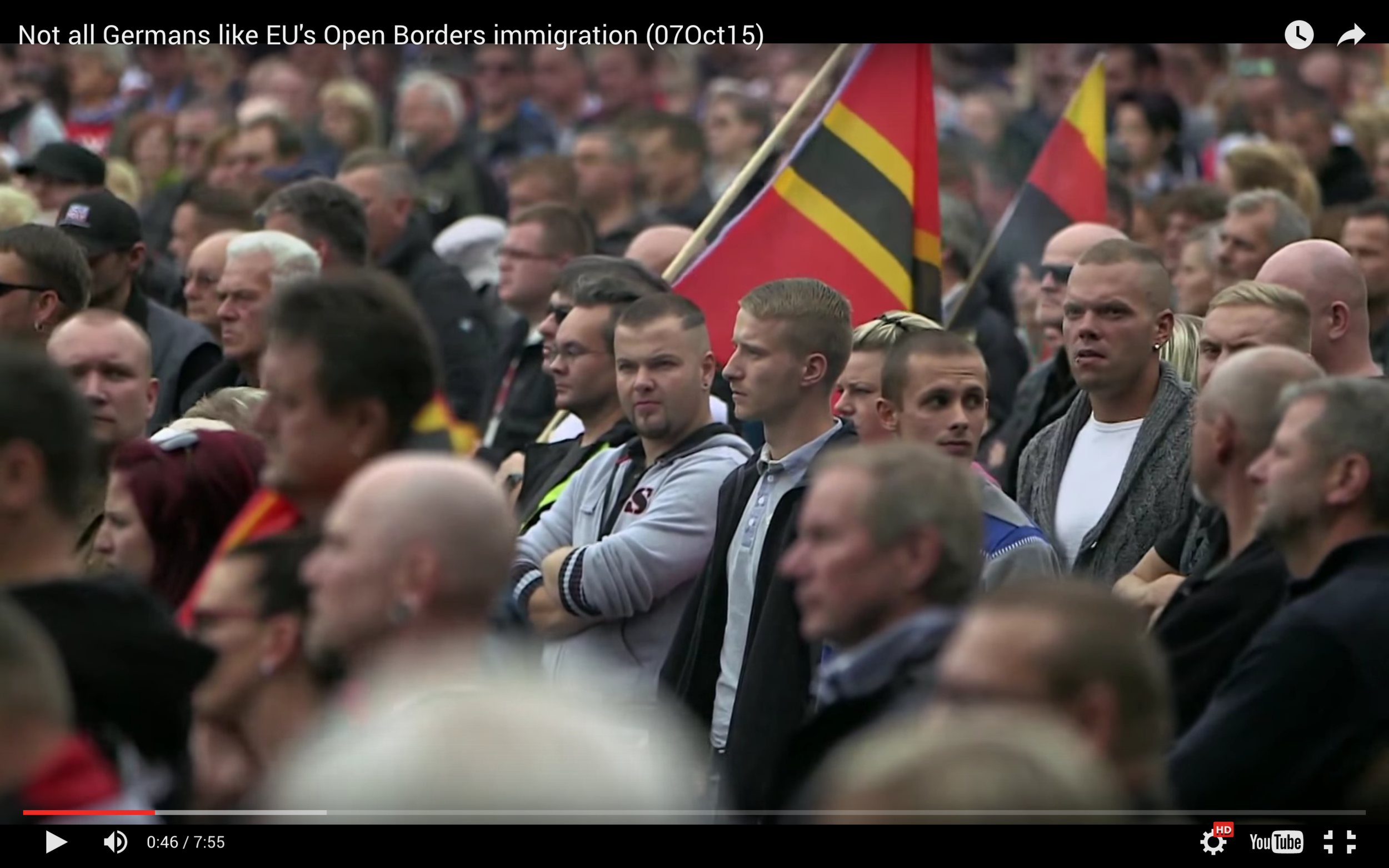 Not All Germans Like EU's Open Borders (Video)