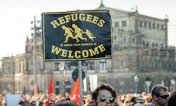 German Pro-Immigrant Protest