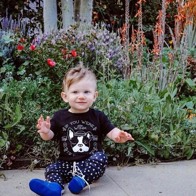 I was scrolling through all the beautiful pictures of your littles we are tagged in and I was so moved! I remembered how magical it is to see your sweet babes bring joy and life to the clothes I make in our small, Queens, NY apartment. I can't get over the cuteness of baby @olivermatalon, check out their profile to see how he's grown ♥️ . . P.S. last day to use code YayViolet for 15% off 😘♥️✨