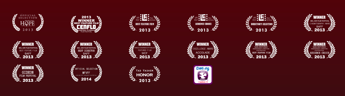 Click above to view the Festival Awards & Honors achieved by  Return to the Hiding Place