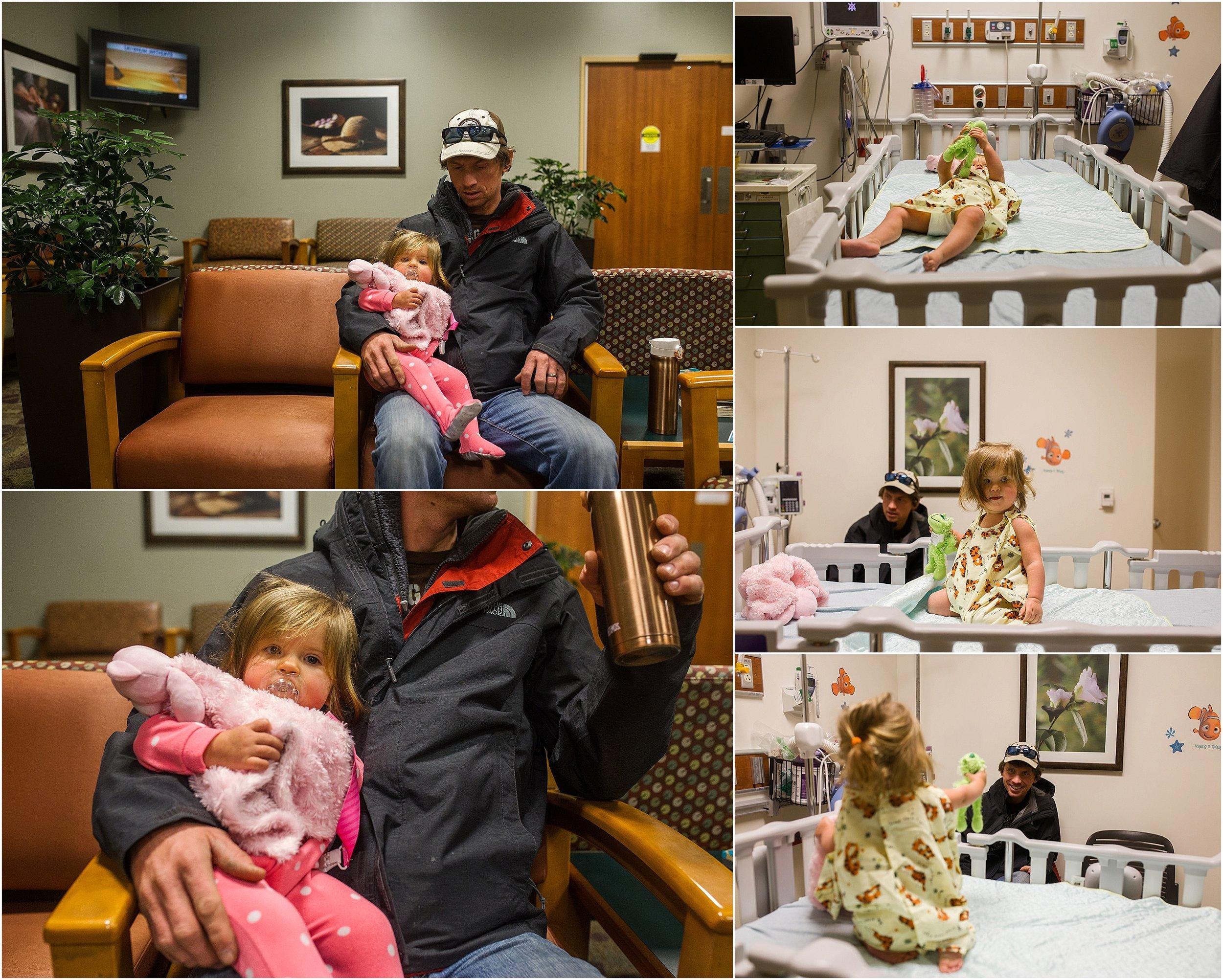 surgery, tubes, Rockingham Memorial Hospital, little girl, Holli Pool Photography, Stuarts Draft, Virginia photographer