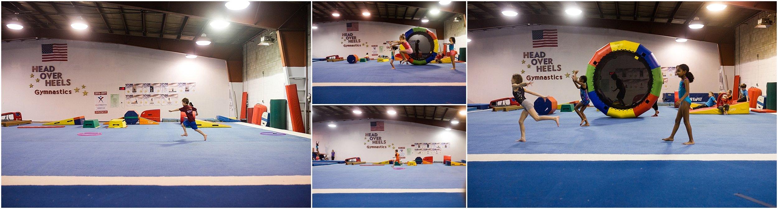 Head Over Heels Gymnastics, ninja class, Holli Pool Photography, Stuarts Draft, Virginia photographer