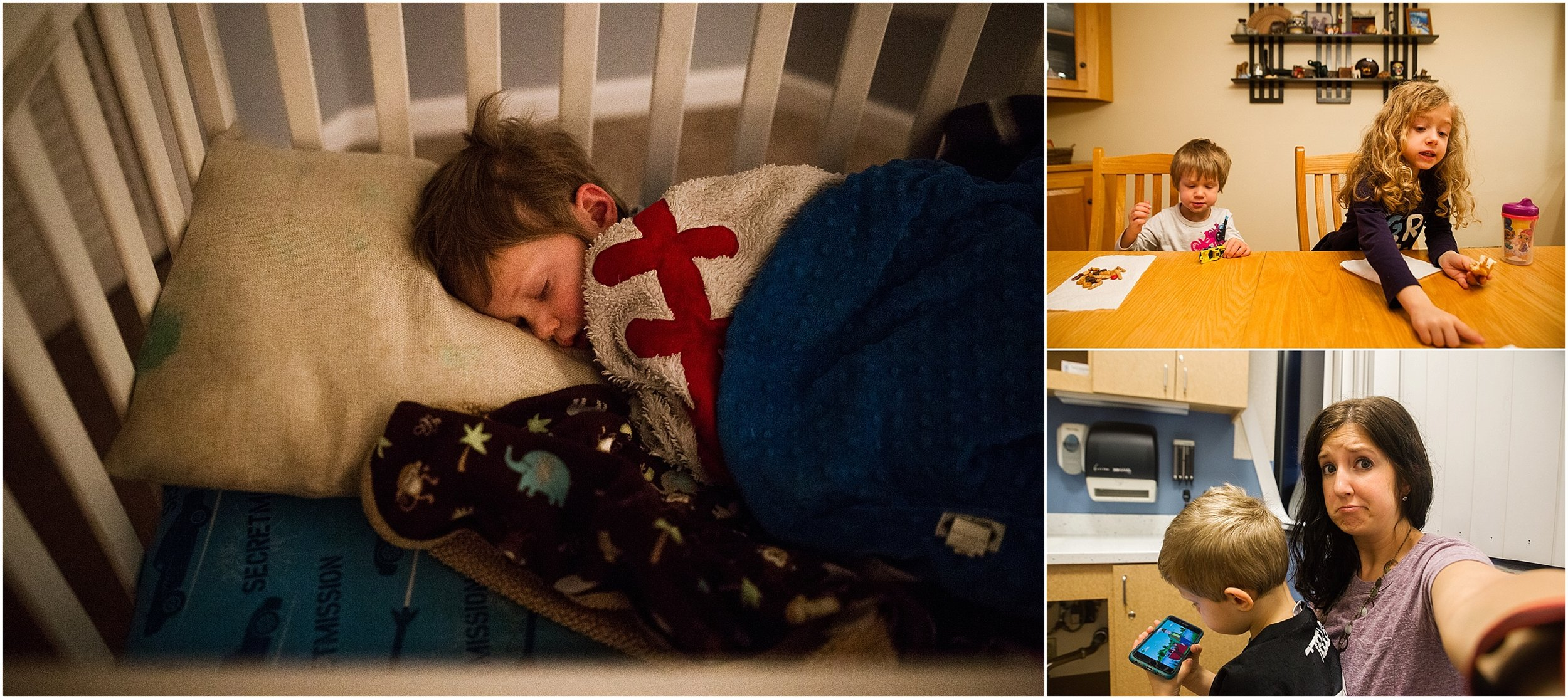 toddler asleep in crib Holli Pool Photography Stuarts Draft Virginia
