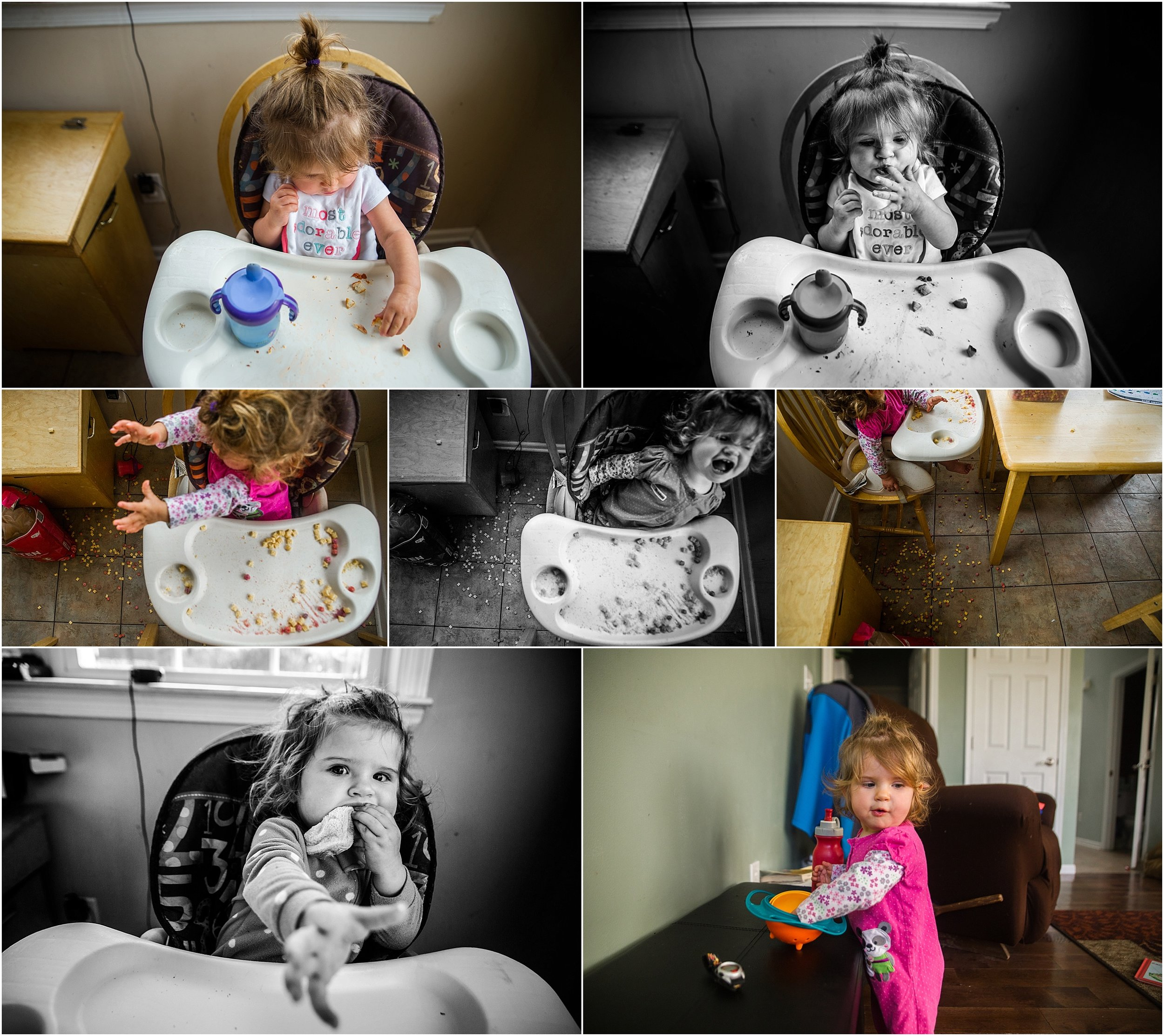 high chair baby girl Holli Pool Photography Stuarts Draft Virginia