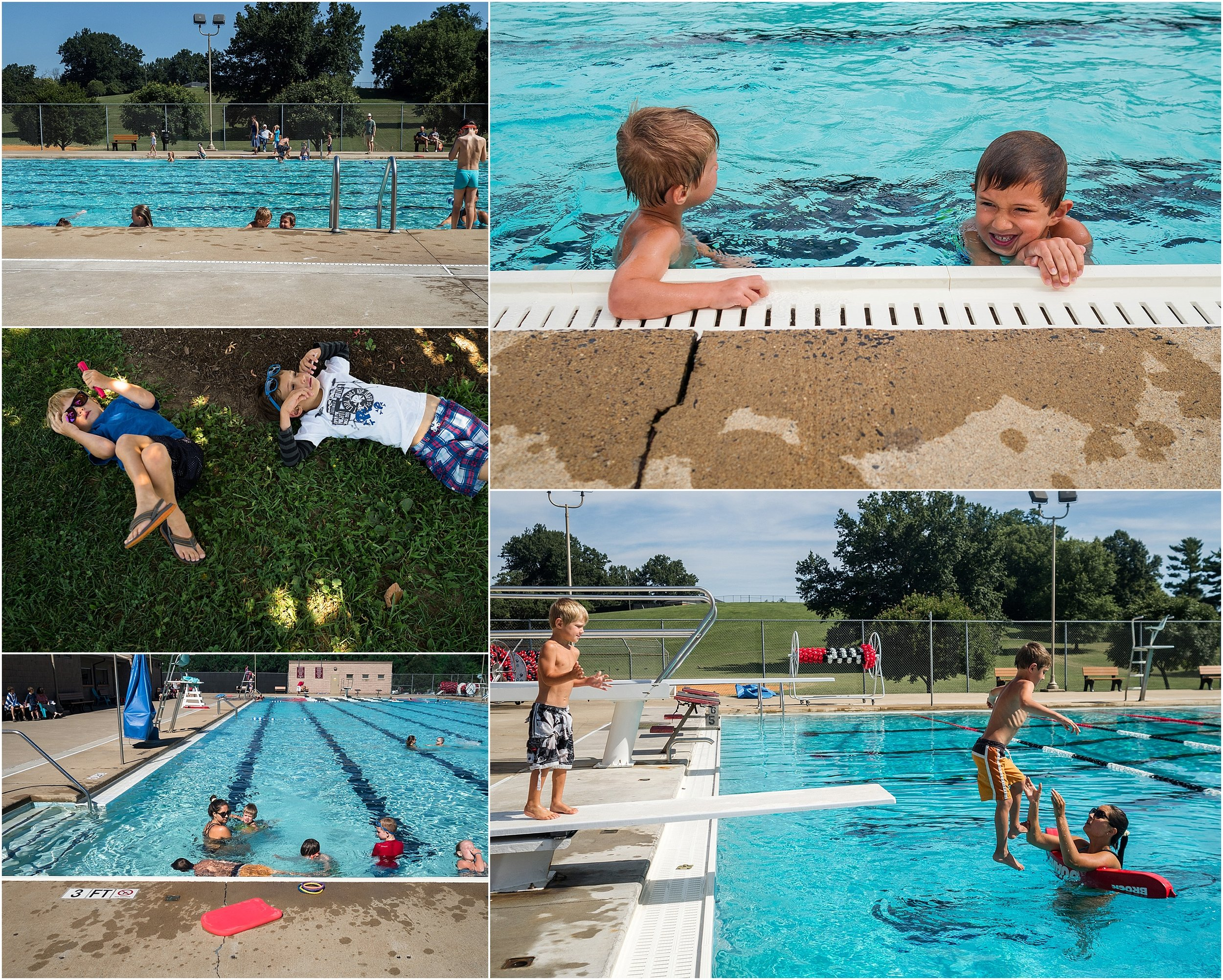 summer at the pool, Augusta County photographer