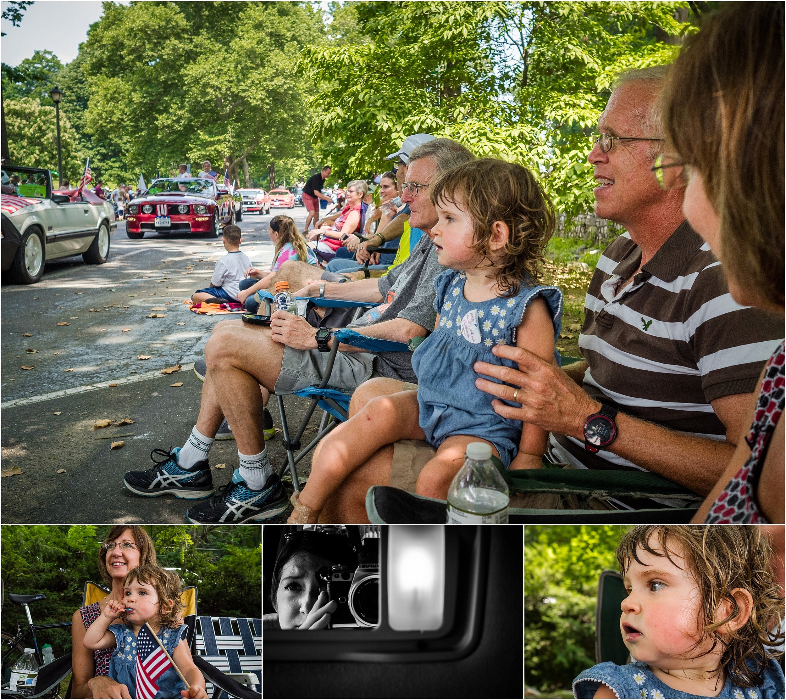 4th of July, Staunton Virginia, Family photographer