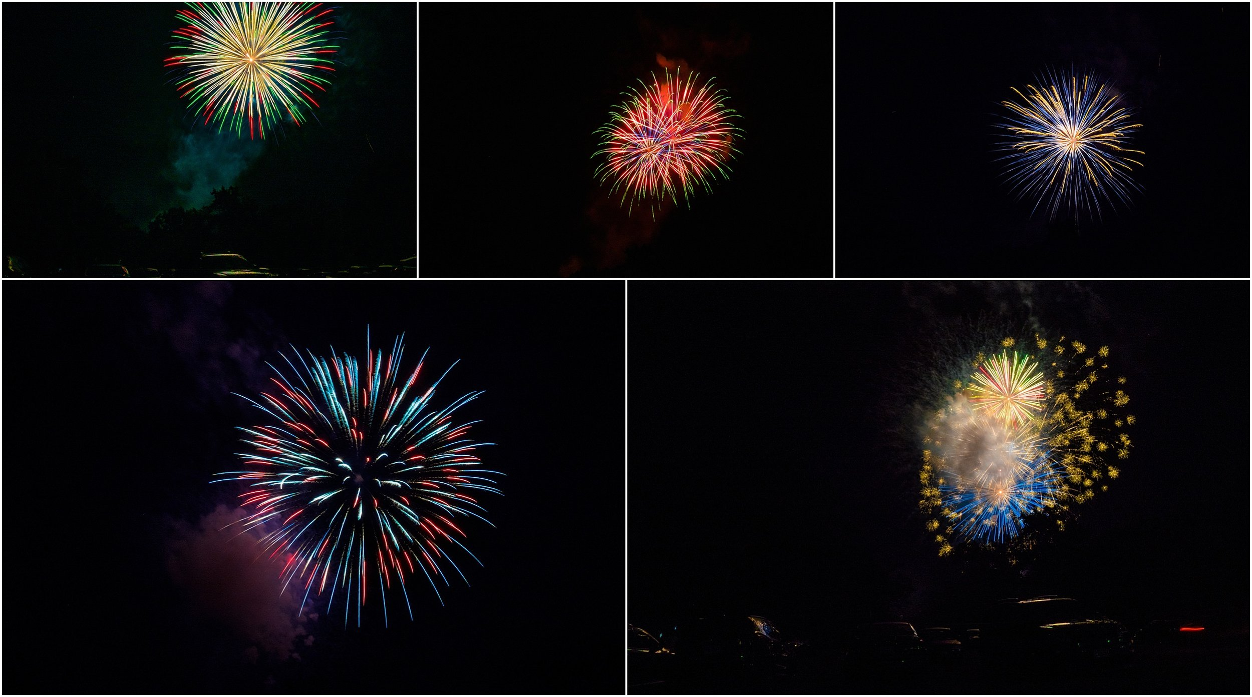fireworks in Waynesboro Virginia