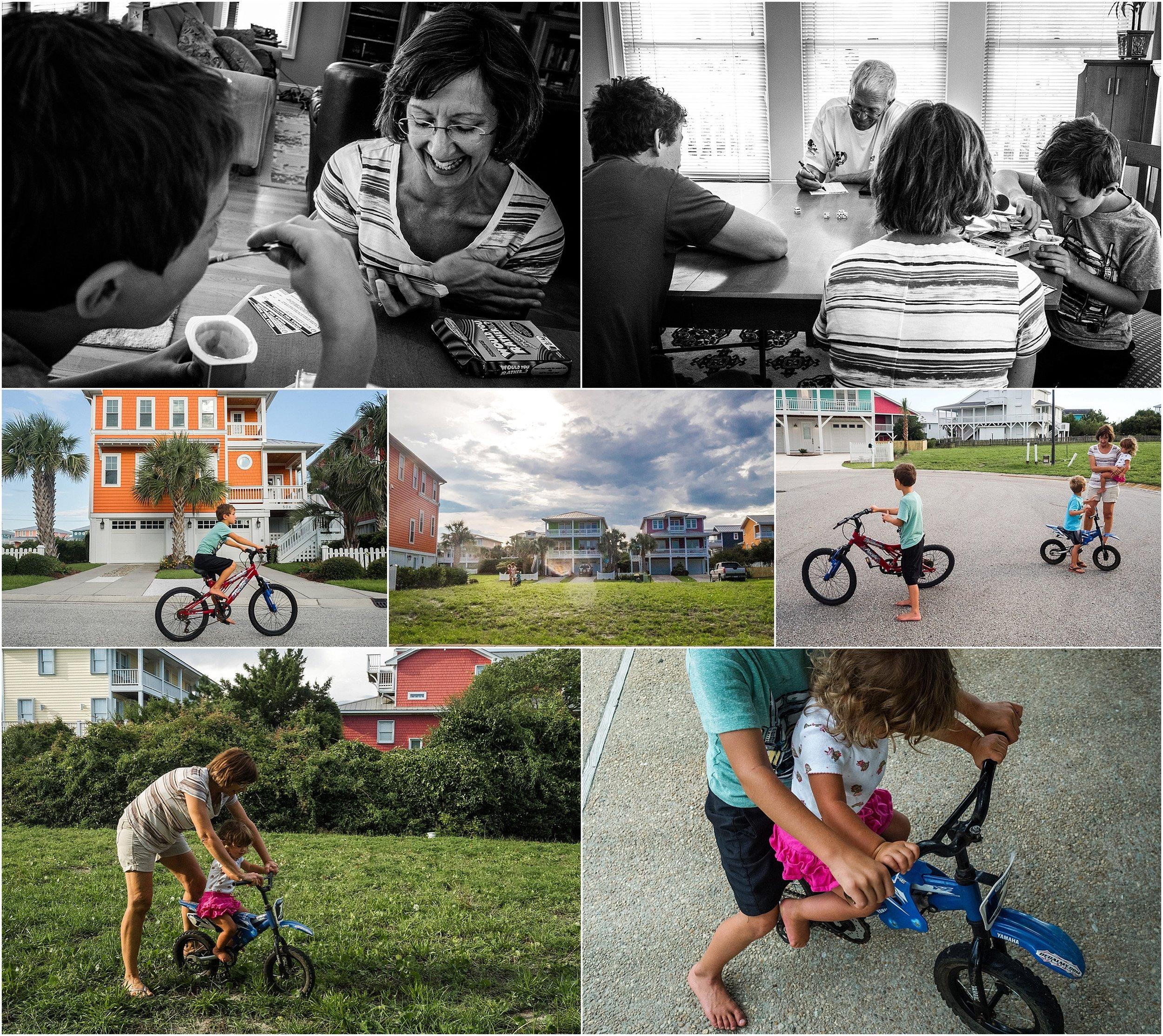 Vacation Documentary Family Photography Holli Pool North Carolina