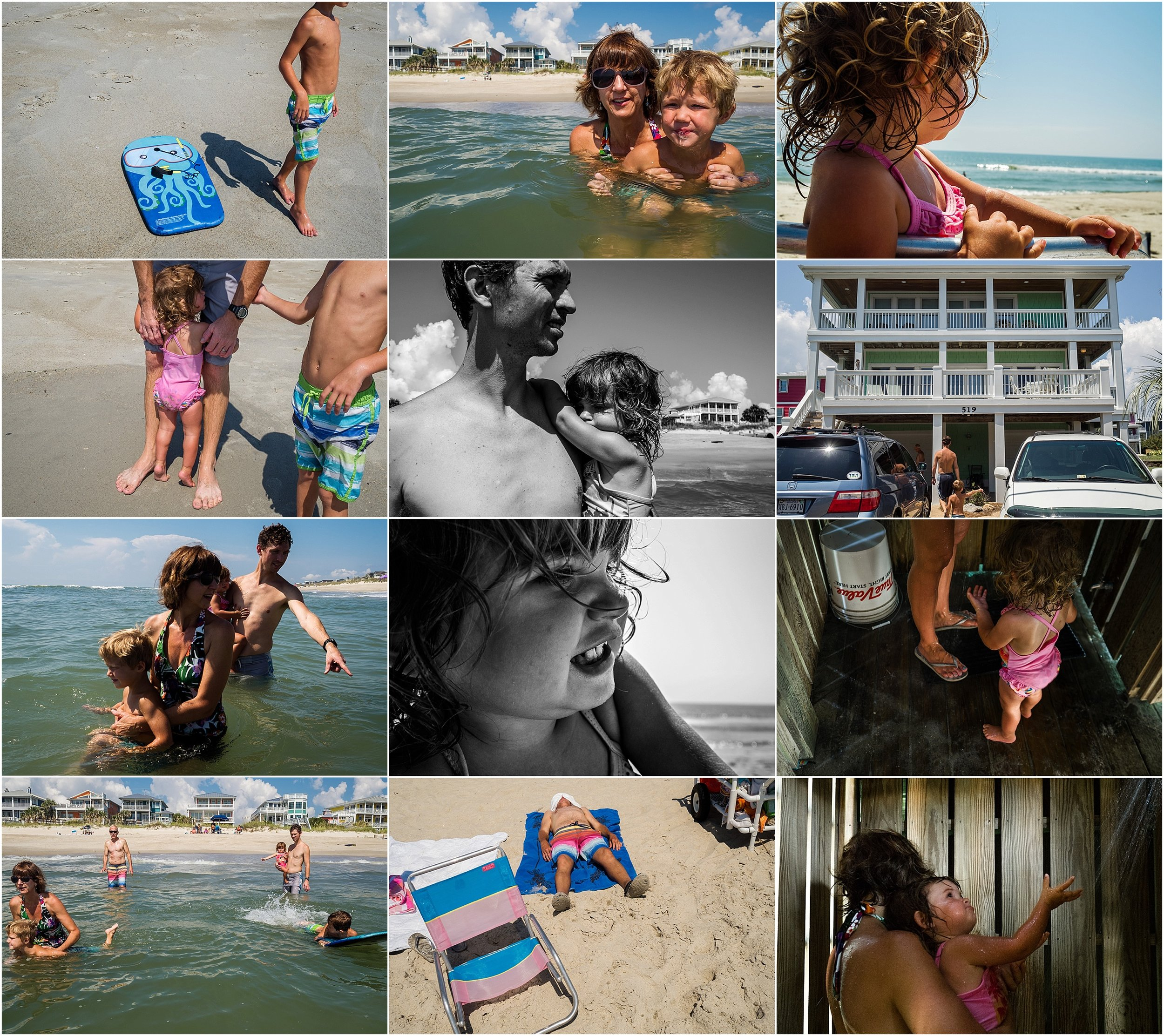Vacation Documentary Family Photography Virginia Photographer Holli Pool