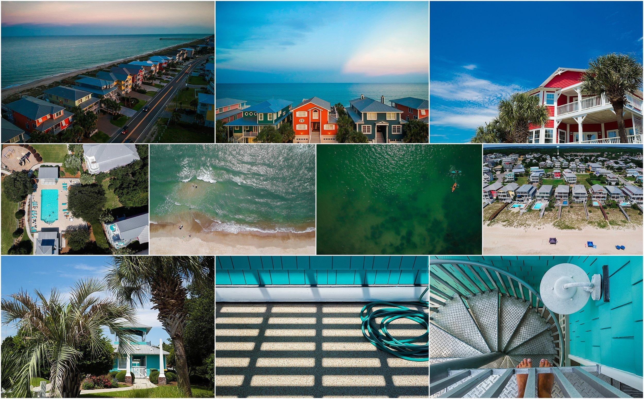 Vacation Documentary Family Photography Holli Pool Carolina Beach North Carolina
