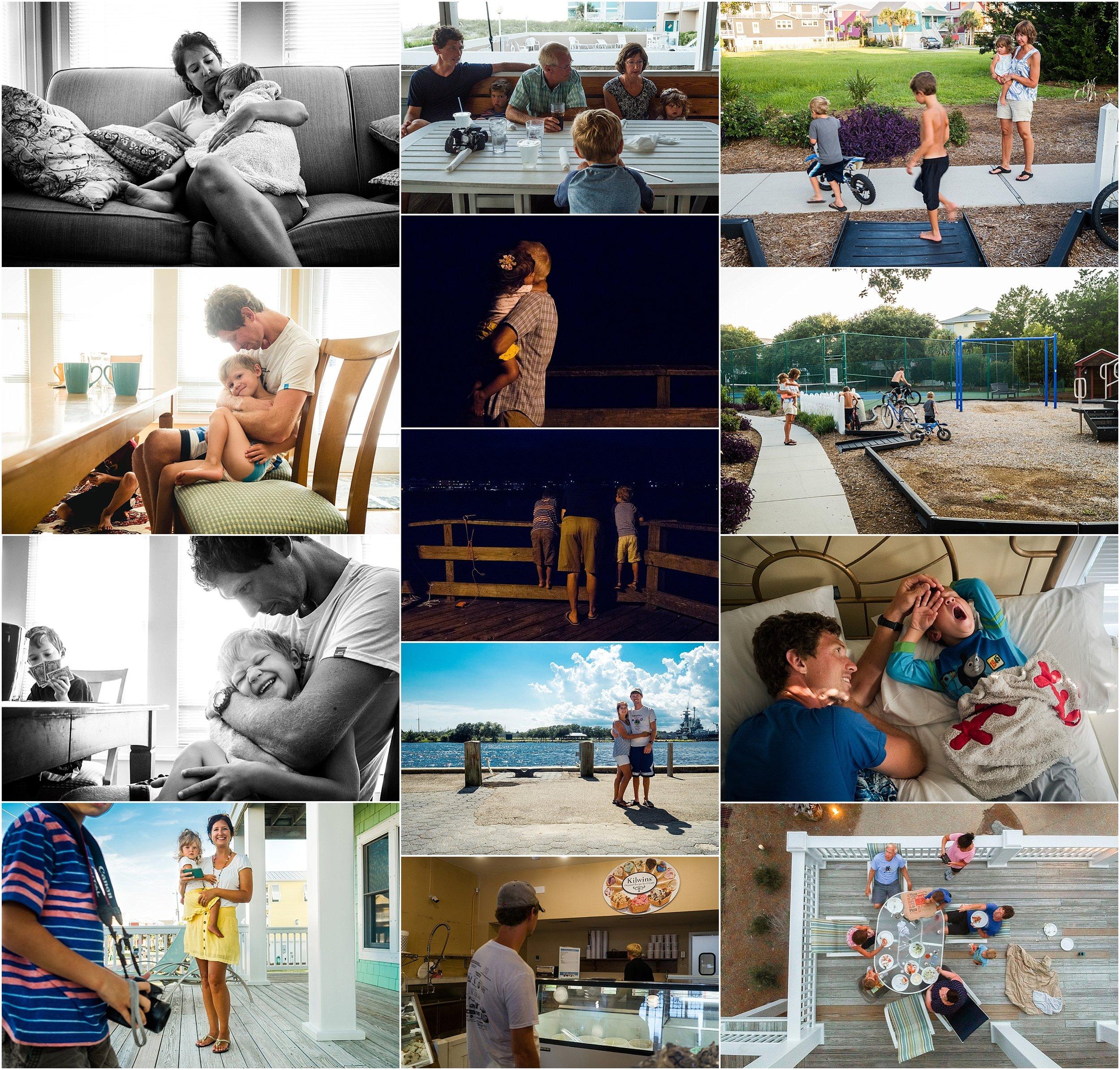 Vacation Documentary Family Photography Holli Pool Documenter