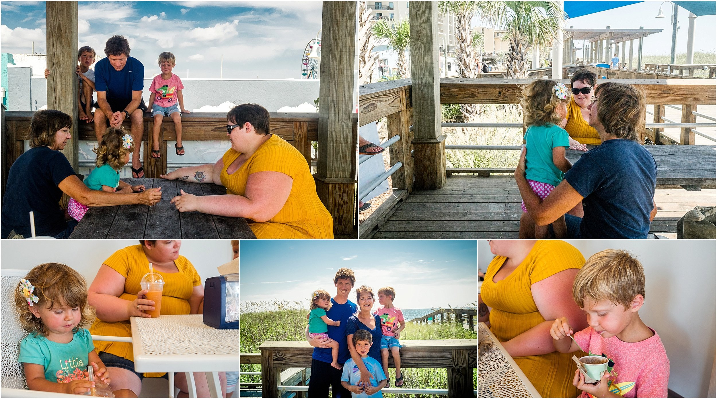 Holli Pool Photography Virginia Family Photographer Carolina Beach Vacation