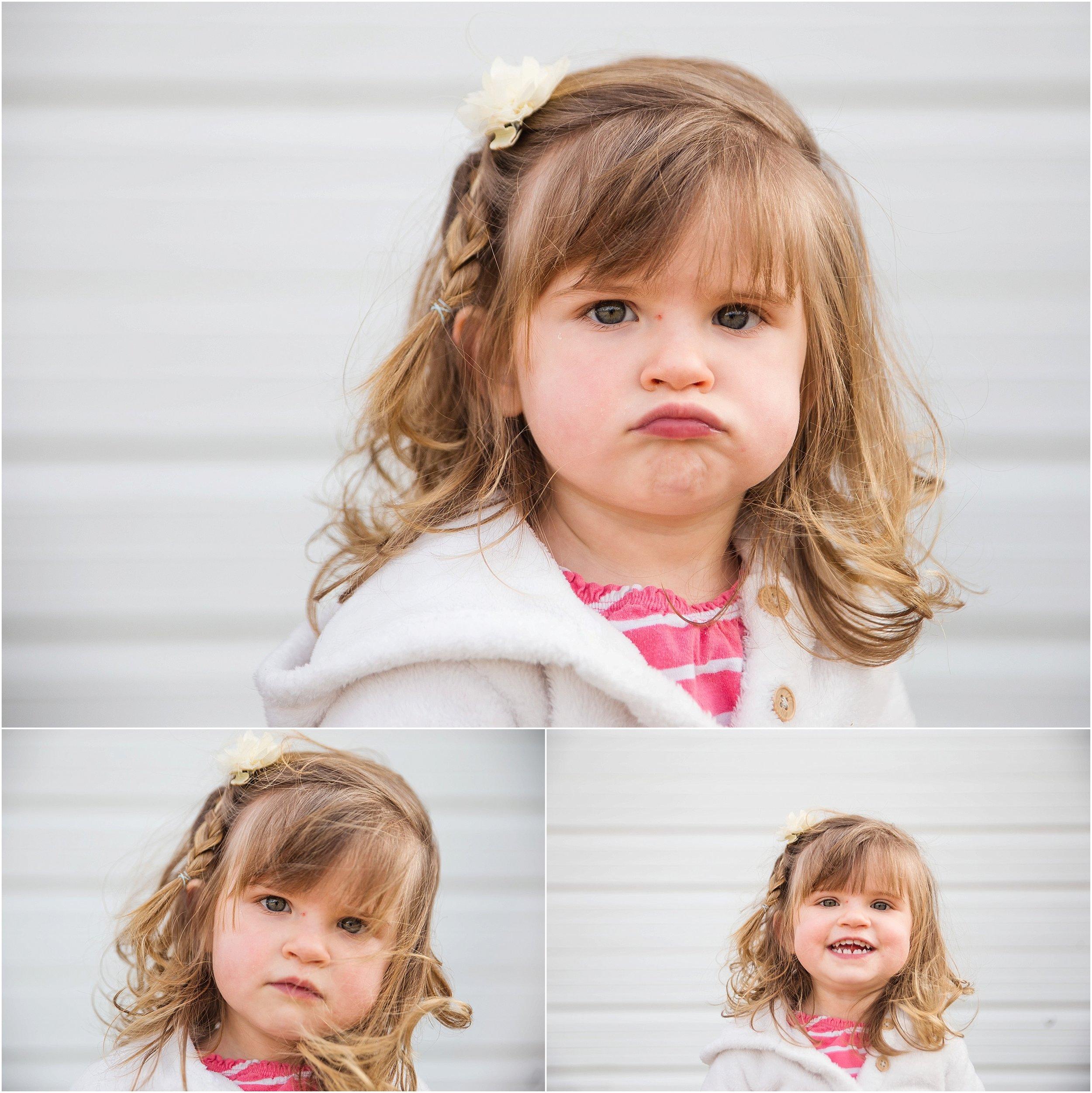 little girl toddler portrait