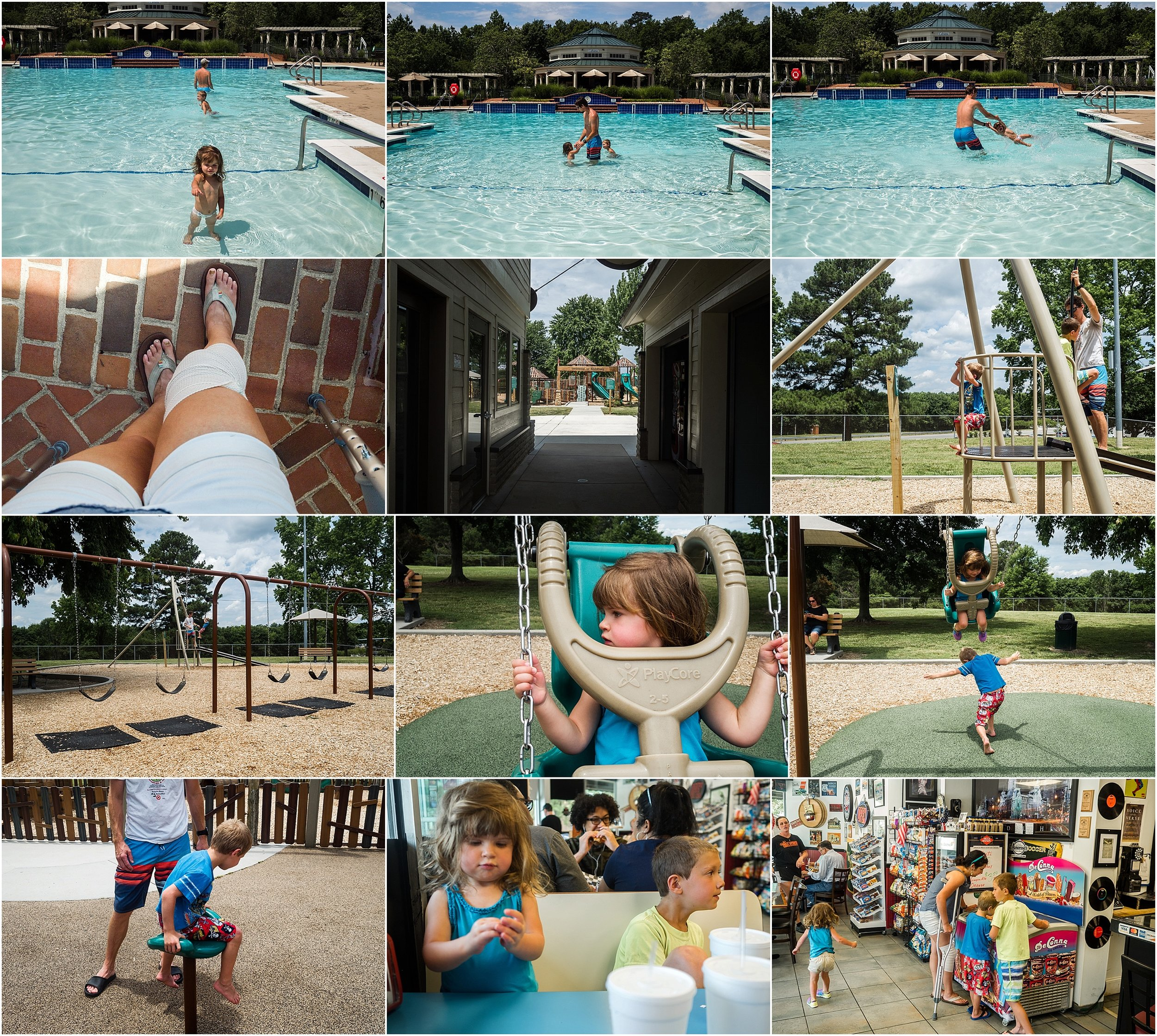 swimming and playground park Williamsburg VA