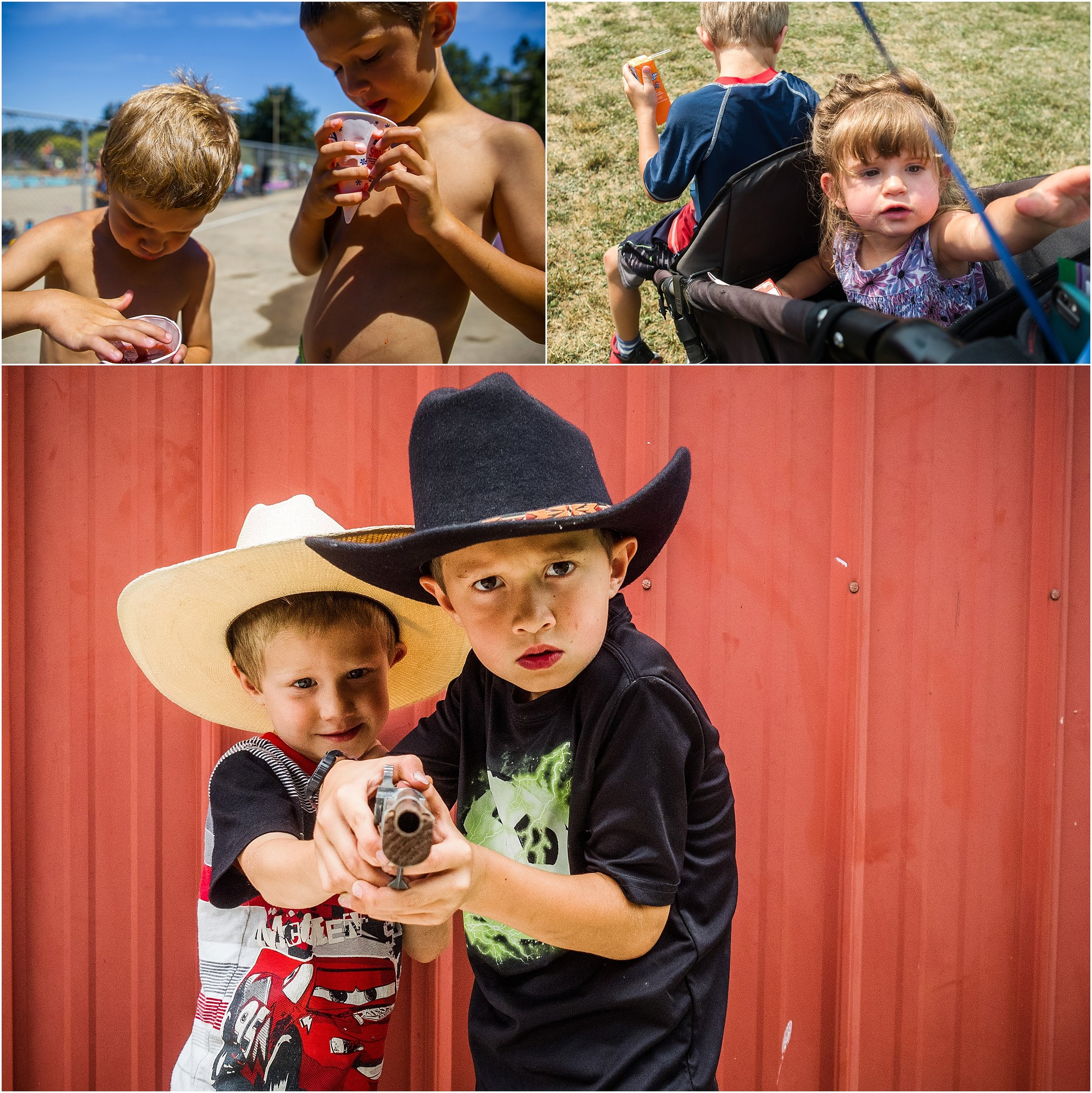 brothers and a sister cowboys