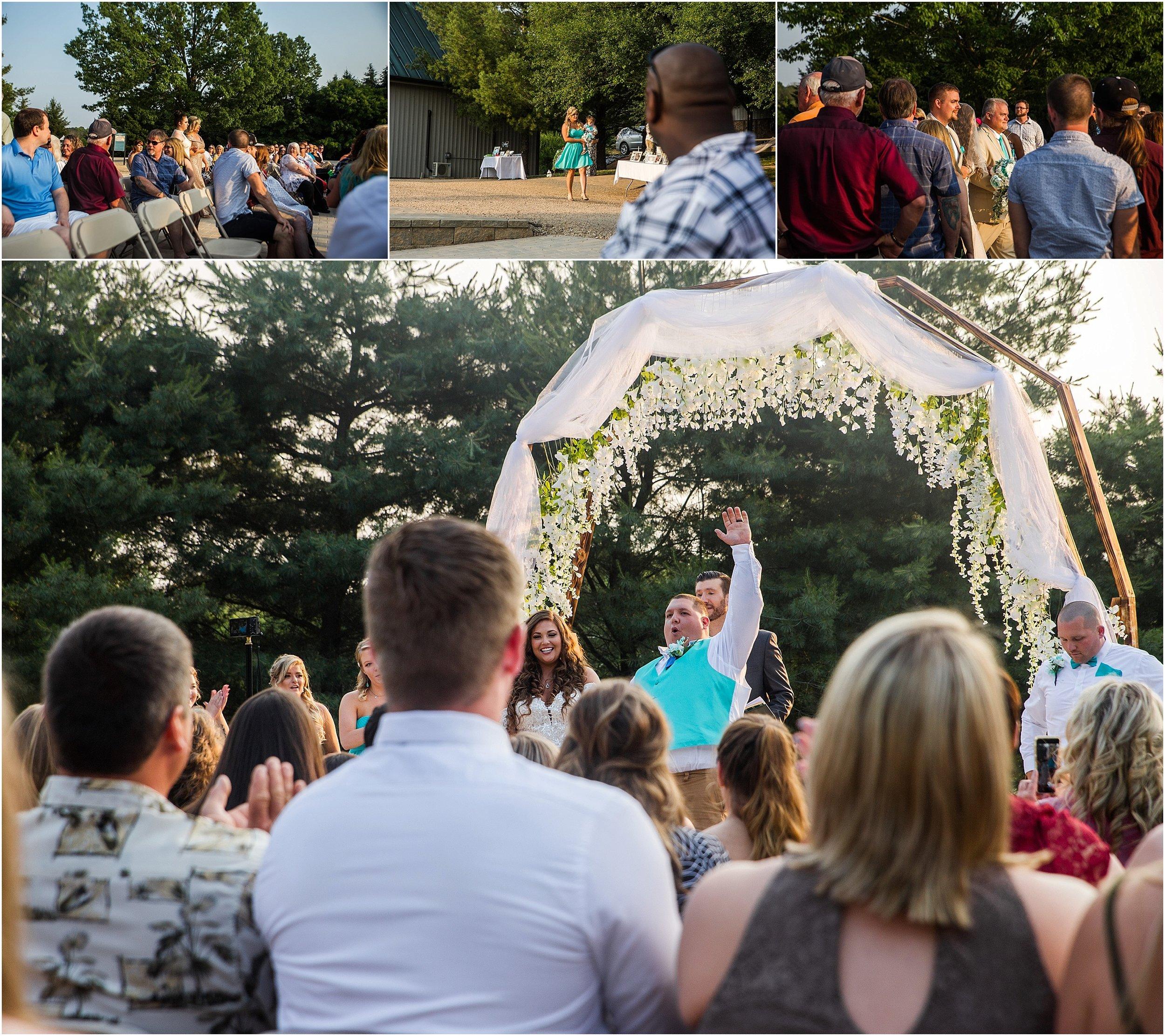 wedding in Staunton Virginia