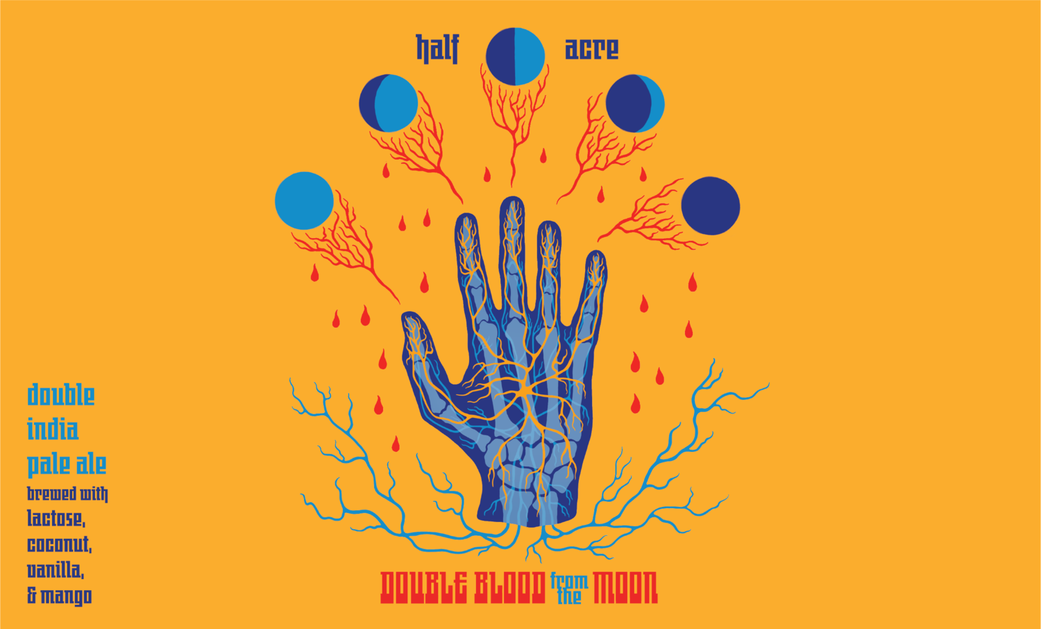 Double Blood From The Moon — HALF ACRE