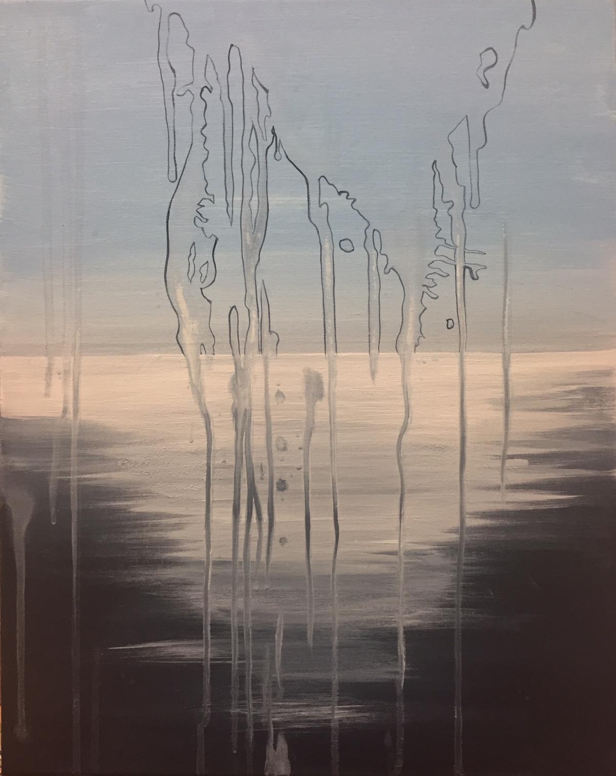 January 12, 2017  |  Acrylic on canvas  |  16x20