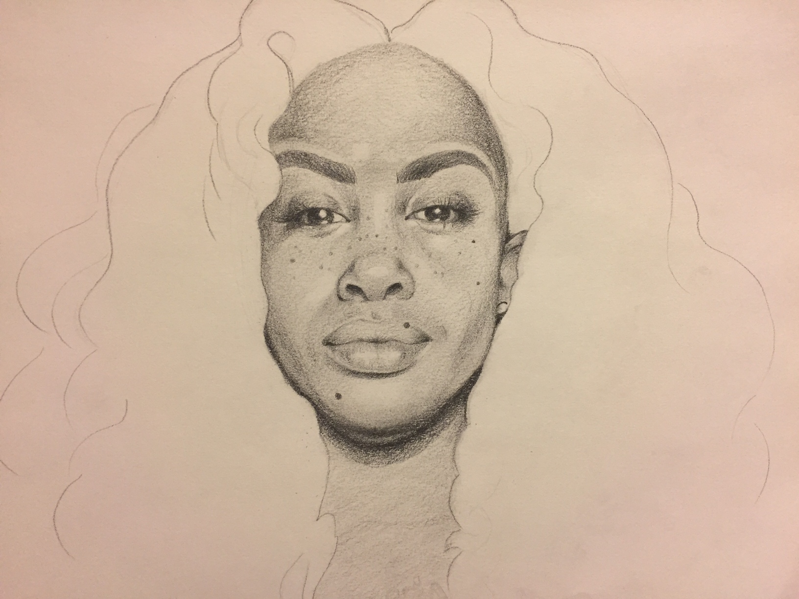 January 19, 2017  |  Graphite on paper  |  11x15